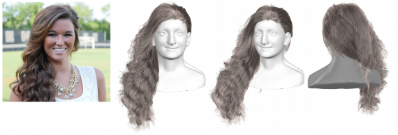 3D Hair Reconstruction