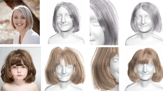3D Hair Reconstruction Out of a Single Image