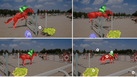 Blazingly Fast Video Object Segmentation with Pixel-Wise Metric Learning