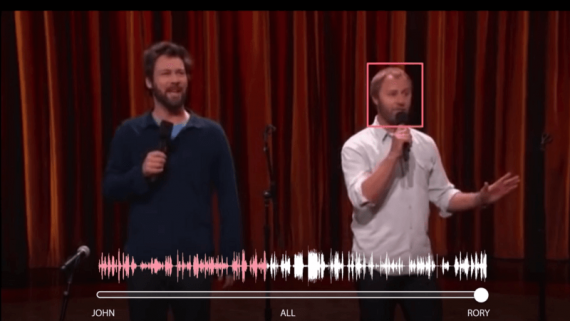 Neural Network Has Learned to Separate Individuals' Speech on Video