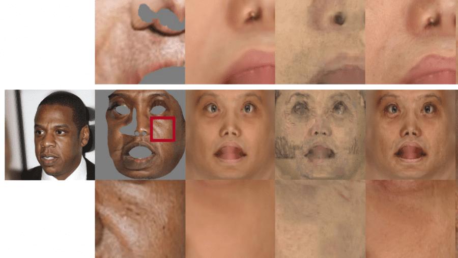 3D аватар из одного изображения - маска