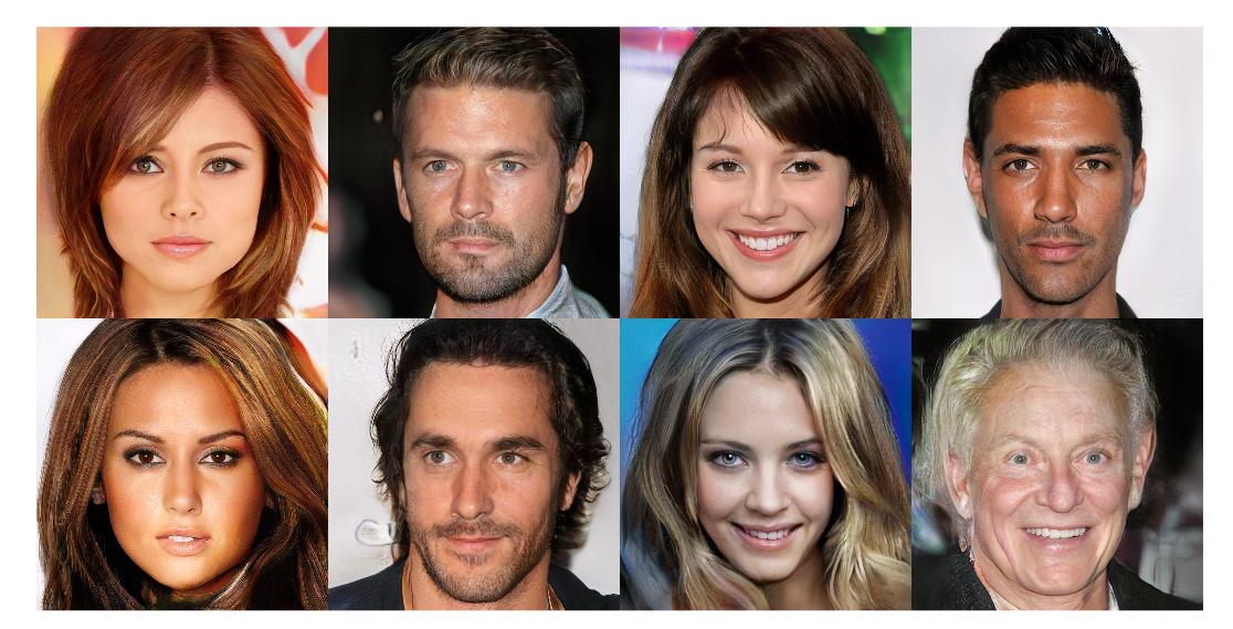 Реалистичные изображения несуществующих знаменитостей, созданные с помощьюGAN.