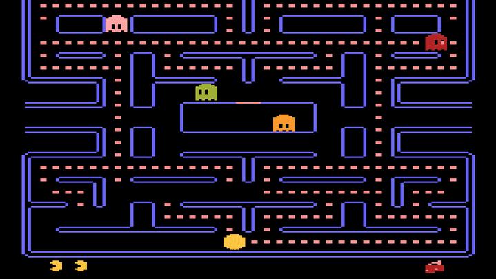 Neural network playing Atari game
