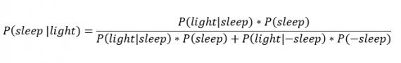Окончательное уравнение Байеса