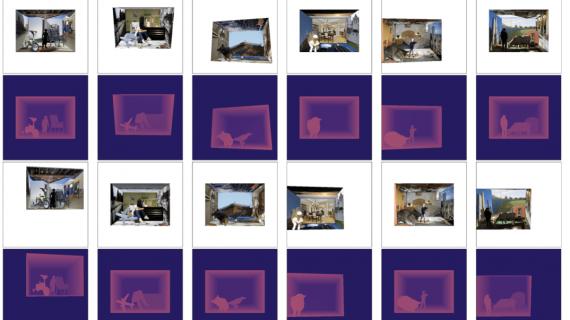 6 randomly generated synthetic training samples