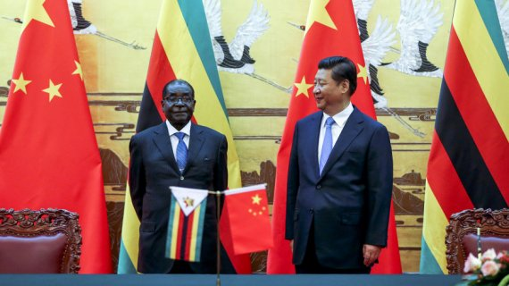 Zimbabwean President Robert Mugabe Visits China