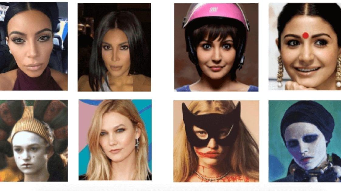 Датасеты для распознавания лиц в сложных условиях — в масках, очках, с макияжем, в старости