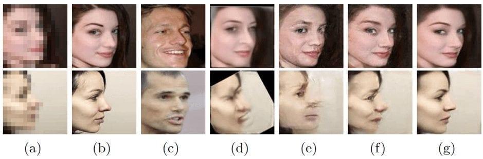 улучшение качества фотографий с лицами