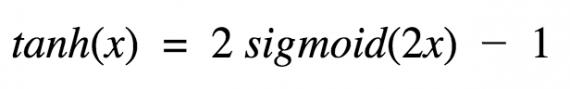 Гиперболический тангенс