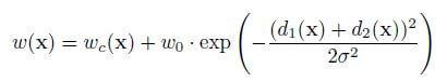 U-net formula