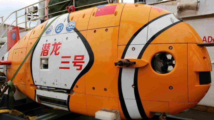станция для подводных исследований Китай