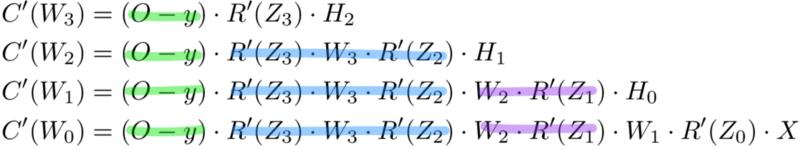 уравнение обратного распространения