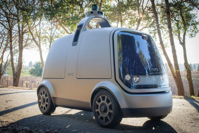 робот для доставки продуктов NURO