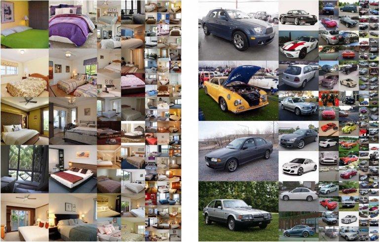 Новые интерьеры и автомобили, созданные GAN