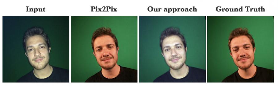 сравнение deepflash и pix2pix