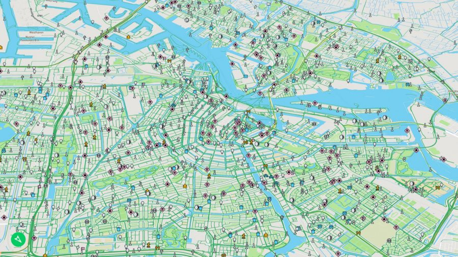 Карта для автономных автомобилей Mapillary