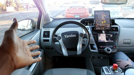 yandex self-driving taxi