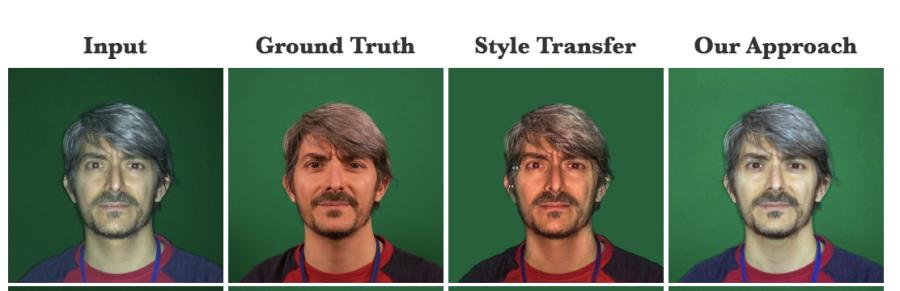 сравнение deepflash и style transfer