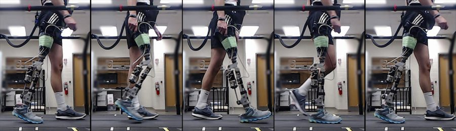 роботизированный протез - настройка с помощью нейронной сети