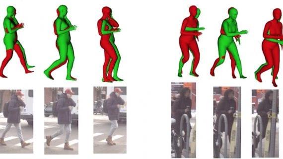 предсказания движения пешеходов нейронная сеть lstm