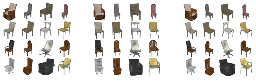 chairs dataset