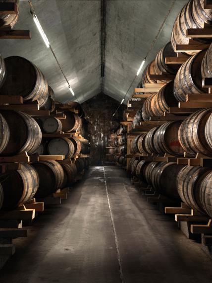 Бочки на Mackmyra Whisky