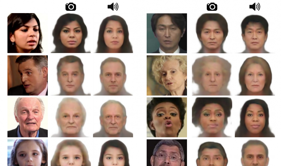 Speech2Face: Neural Network Predicts the Face Behind a Voice